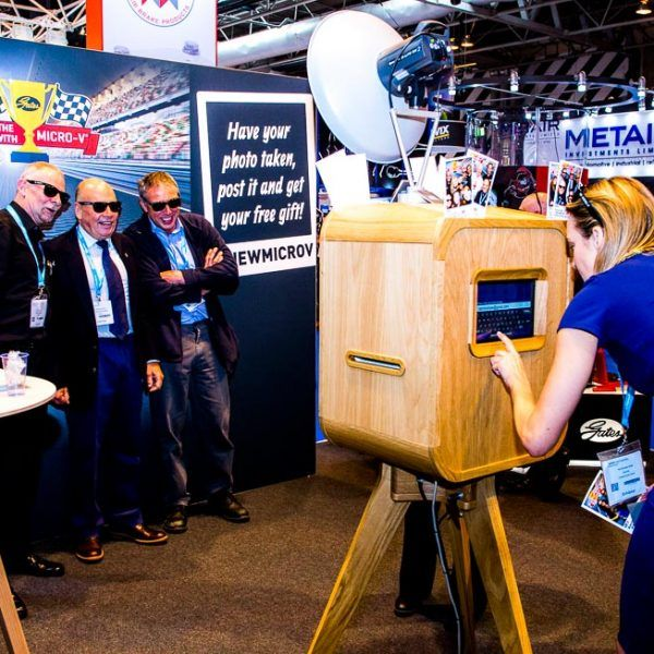Photo Booth In Action - Photo Booth Hire in Birmingham, West Midlands