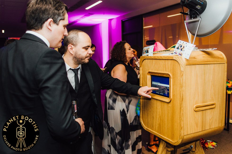 TTG Top 50 Awards 2018 corporate photo booth hire West Midlands