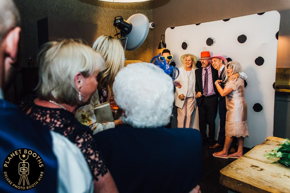 Hampton Manor Photo Booth In Action
