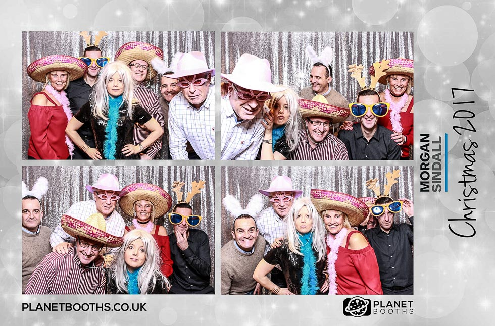 Morgan Sindall Christmas Party Photo Booth