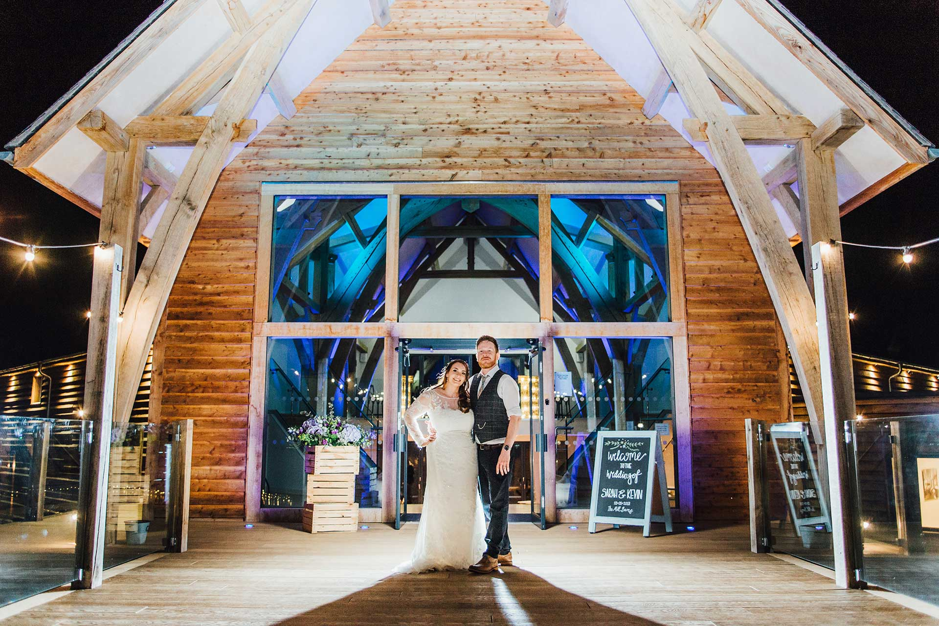 Sarah & Kevin The Mill Barns Photo Booth Hire