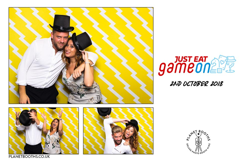 Just Eat corporate photo booth hire West Midlands