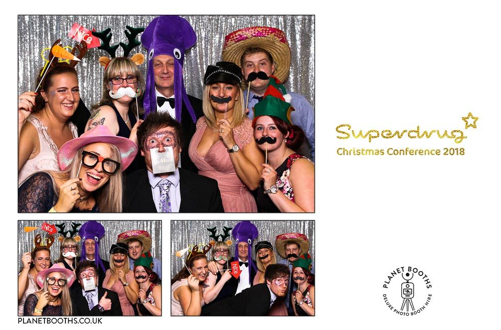 Superdrug Christmas Conference 2018 - Photo Booth Hire West Midlands