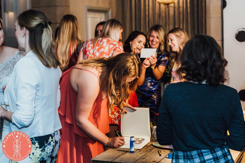 Hampton Manor Photo Booth In Action Guest Book