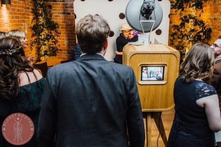 Planet Booths Photo Booth In Action at Shustoke Barns