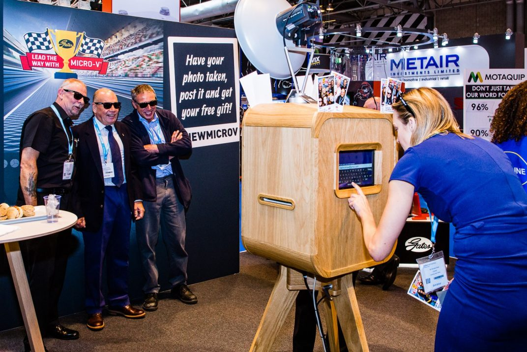 NEC Corporate Photo Booth Hire West Midlands