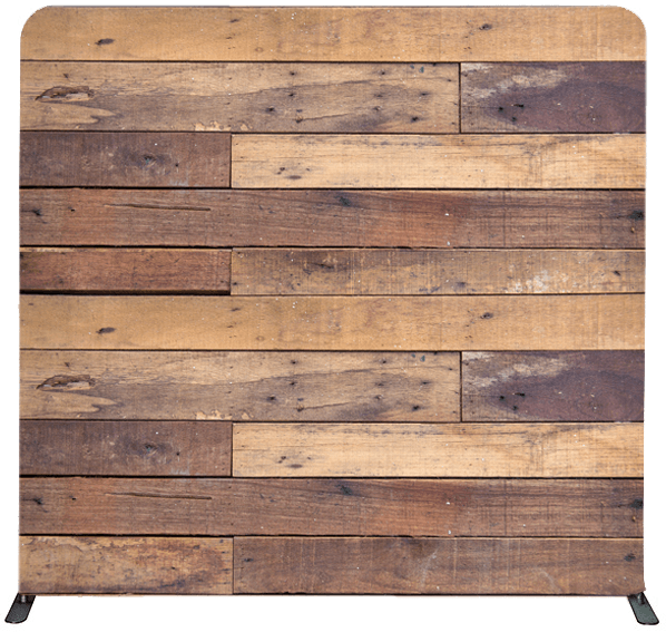 Reclaimed Wood Photo Booth Backdrop