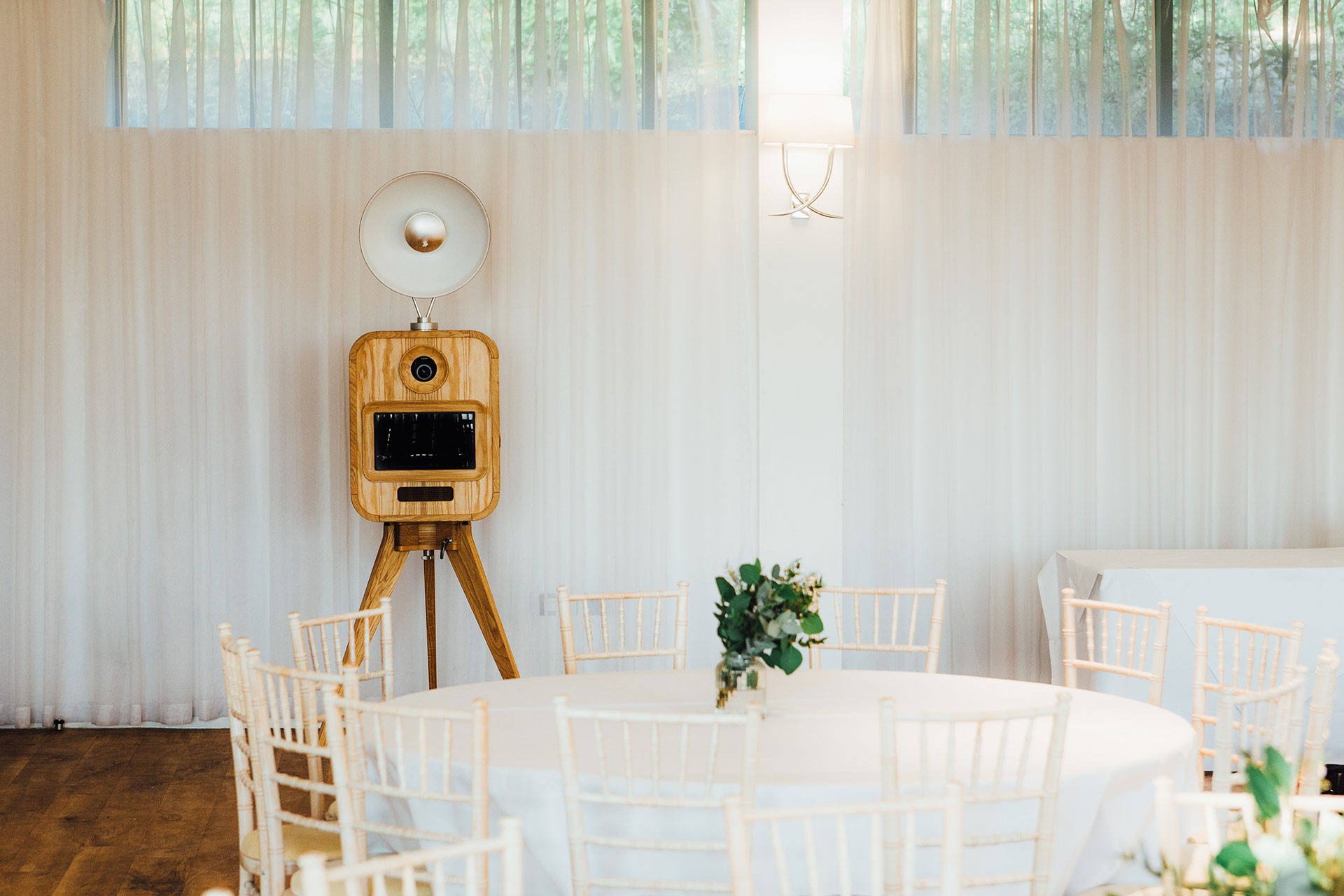 The Wood Norton photo booth hire Worcestershire slider